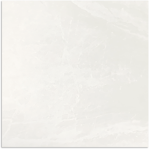 Mainstream White Polished Tile 600x600