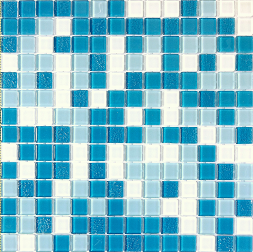 Paradise Hawaii Glass Mosaic 20x20