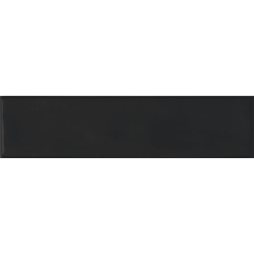 Edge Black Gloss Wave Wall 68x280