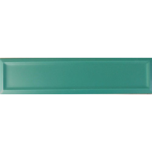 Edge Dark Green Matt Frame Wall 68x280