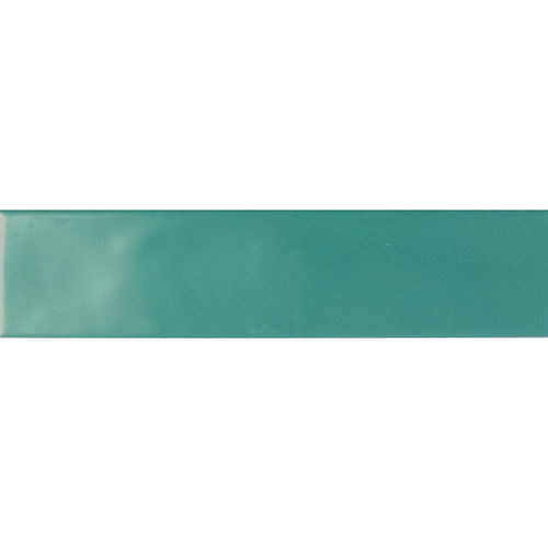 Edge Dark Green Gloss Wave Wall 68x280