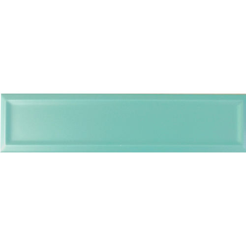 Edge Light Green Matt Frame Wall 68x280