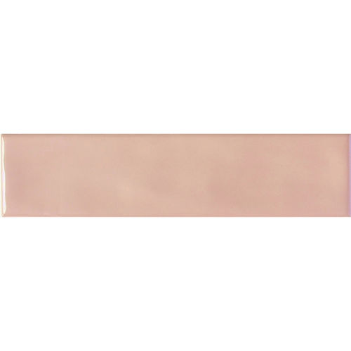 Edge Pink Gloss Wave Wall 68x280
