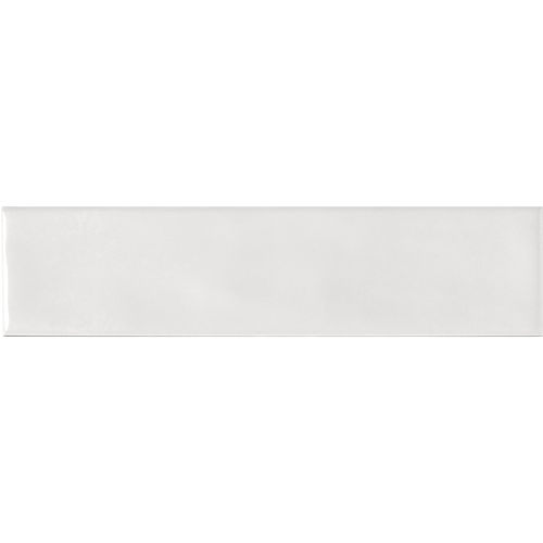 Edge White Gloss Wave Wall 68x280