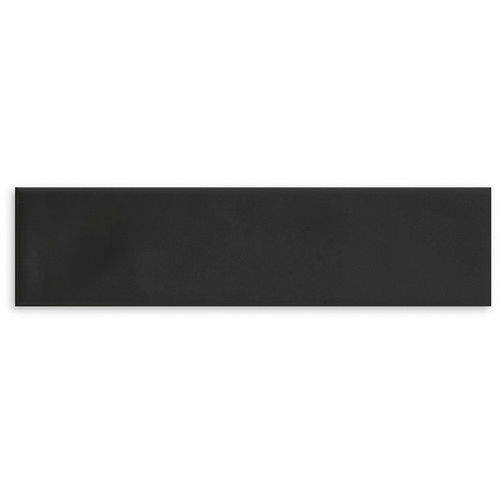 Subway Ripple Black Matte Wall 75x300