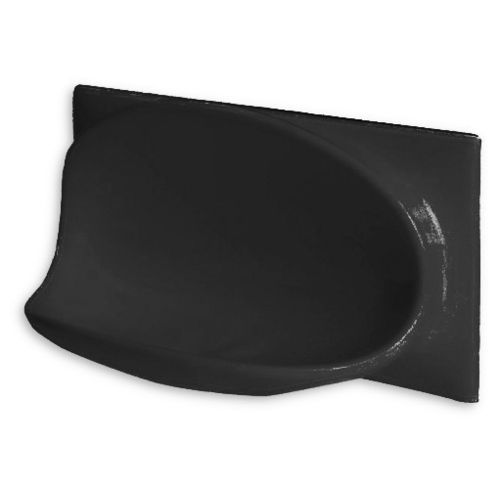 Ceramic Soap Holder 200x100 (Black)
